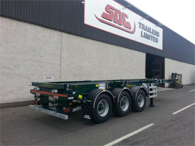 2019 SDC EXTENDABLE SKELETAL CONTAINER CHASSIS at www.mtcequipment.com
