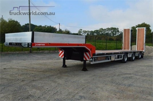 2018 Chieftain Semi Low Loader - Trailers for Sale