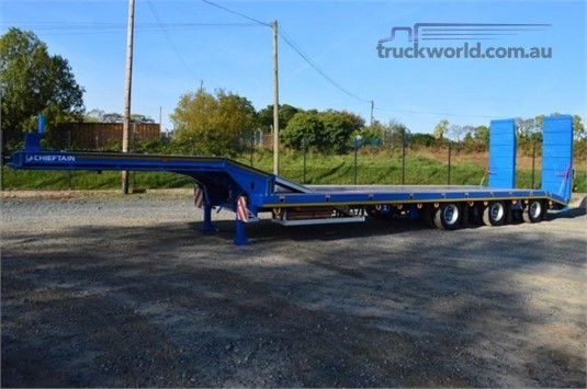 2019 Chieftain 3 Axle Semi Low Loader - Trailers for Sale
