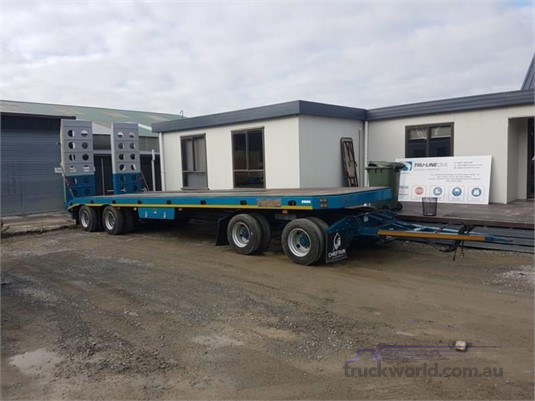 2018 Chieftain 4 Axle Flattop Transporter - Trailers for Sale