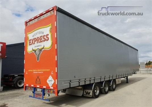 2016 Fruehauf Curtainsider Trailer - Trailers for Sale