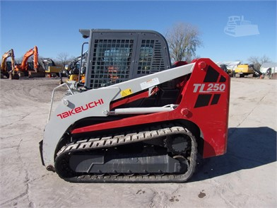 TAKEUCHI TL250 Auction Results - 55 Listings