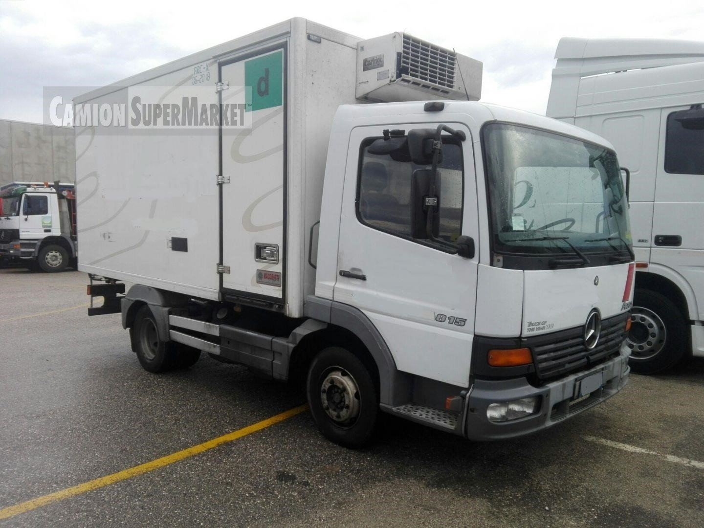 Mercedes-Benz ATEGO 815 used 2002