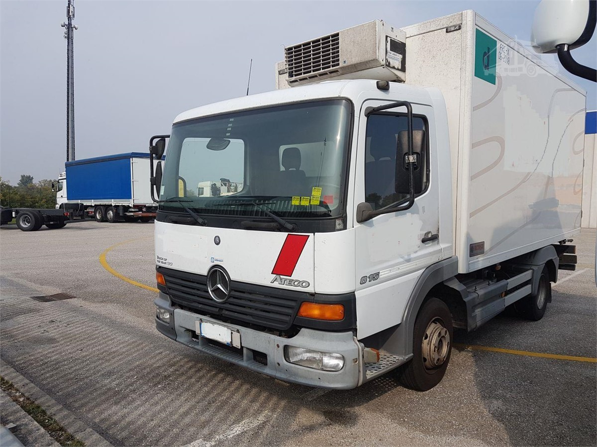 2002 MERCEDES-BENZ ATEGO 815 For Sale In SPILIMBERGO, PN Italy |  TruckPaper.com