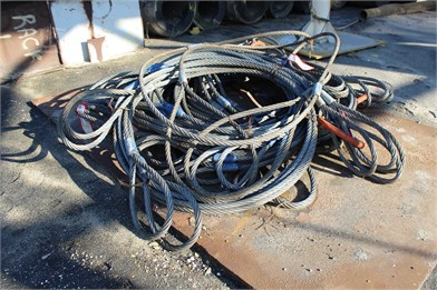 LOT OF 4 PART LIFTING WIRE ROPE Other Auction Results - 1 ... A Diagram For Gmc Pu Wiring Bleachers on