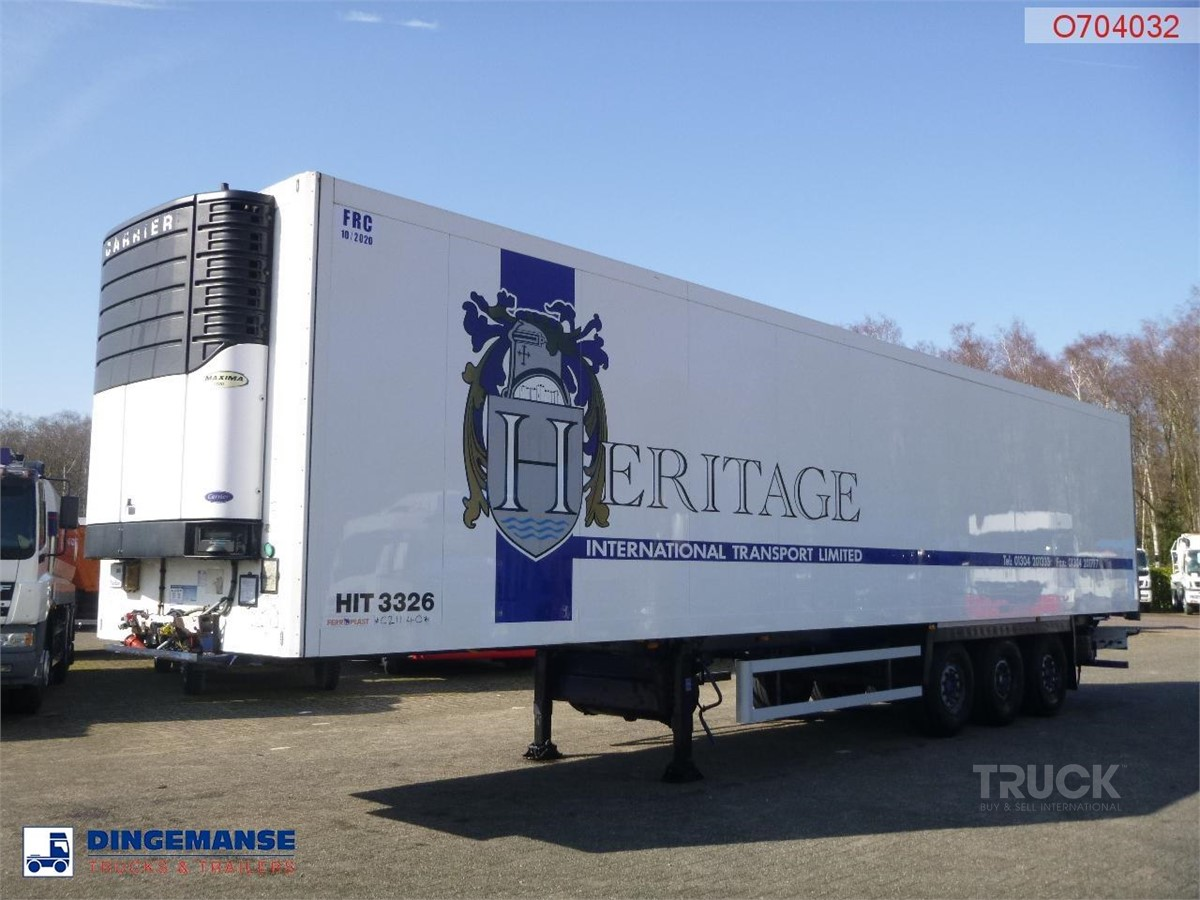 SCHMITZ CARGOBULL FRIGO BOX 85 M3 / CARRIER MAXIMA 1300