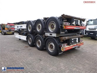 KRONE STACK - 2 X CONTAINER TRAILER 20-30-40-45 FT