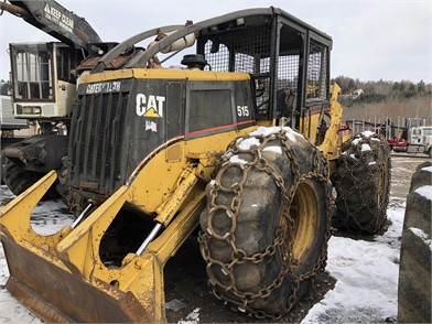 CATERPILLAR Skidders Forestry Equipment Auction Results - 17