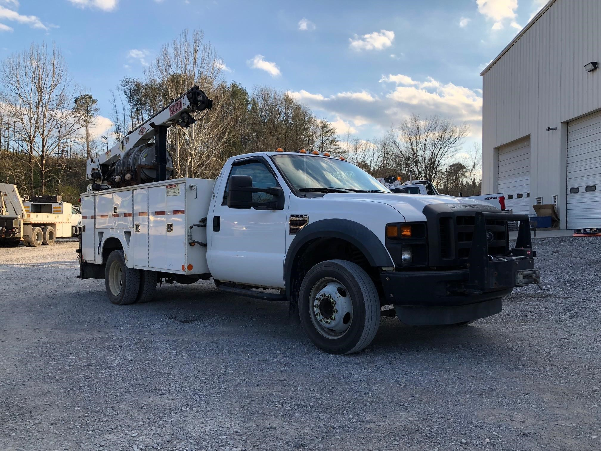 Ford F550 For Sale >> 2008 Imt 2020 Mounted On 2008 Ford F550 For Sale In Chattanooga