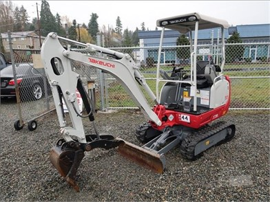 TAKEUCHI TB216 Auction Results - 1 Listings