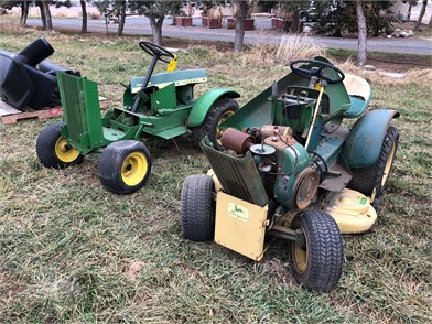 2- JD RIDING LAWN MOWERS FOR PARTS Other Auction Results - 1