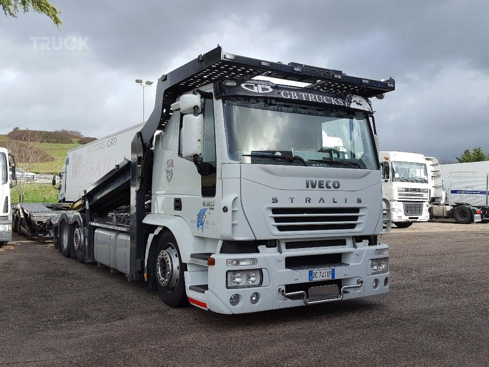 Iveco Stralis 430 Car Transporter Truck Used By Tbsi