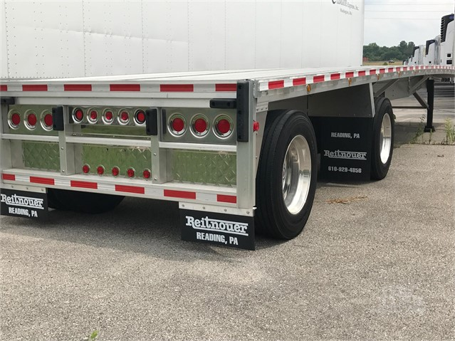 2020 REITNOUER BIG BUBBA ALUMINUM FLATBED TRAILER W/LIFT