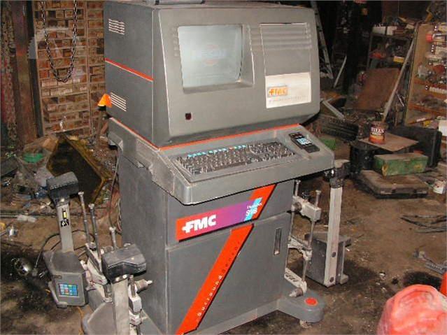 Wheel Alignment Machine >> Lot Fmc 4 Wheel Alignment Machine Other