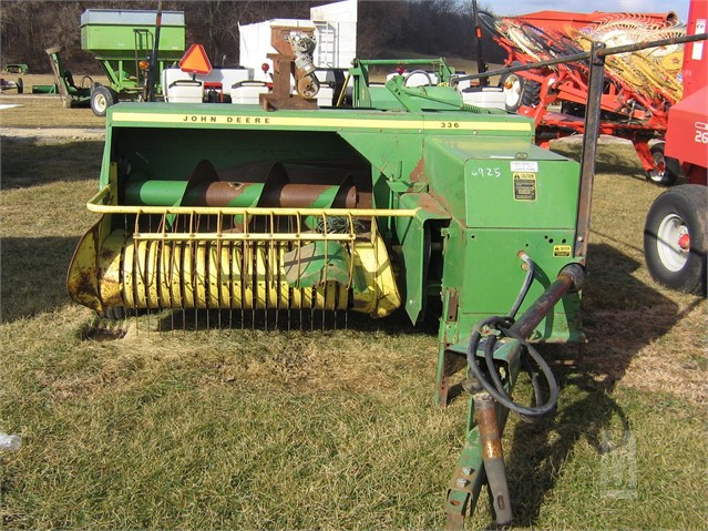 JOHN DEERE 336 For Sale In Fennimore, Wisconsin