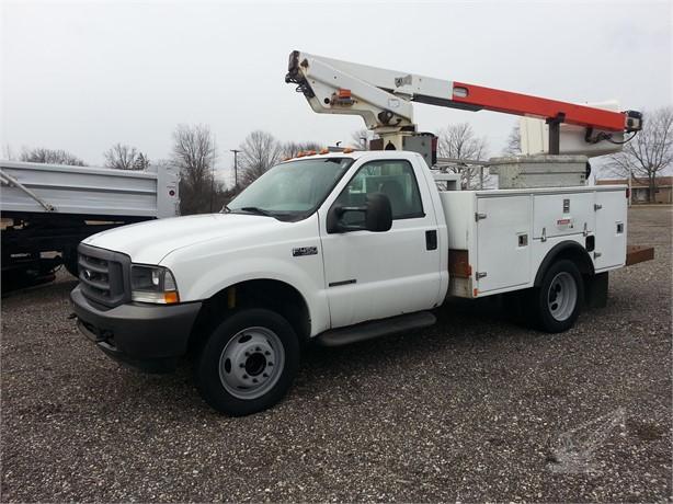 TELSTA A28D Bucket Trucks / Service Trucks For Sale - 4
