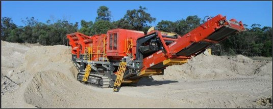 2015 Terex Finlay I130 - Heavy Machinery for Sale