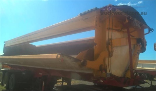 2011 Azmeb SIDE TIPPER - Trailers for Sale