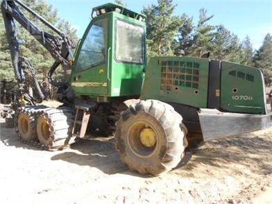 DEERE Processor / Harvesters Forestry Equipment For Sale