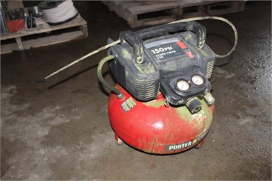 PORTER CABLE 150PSI AIR COMPRESSOR Other Auction Results - 4