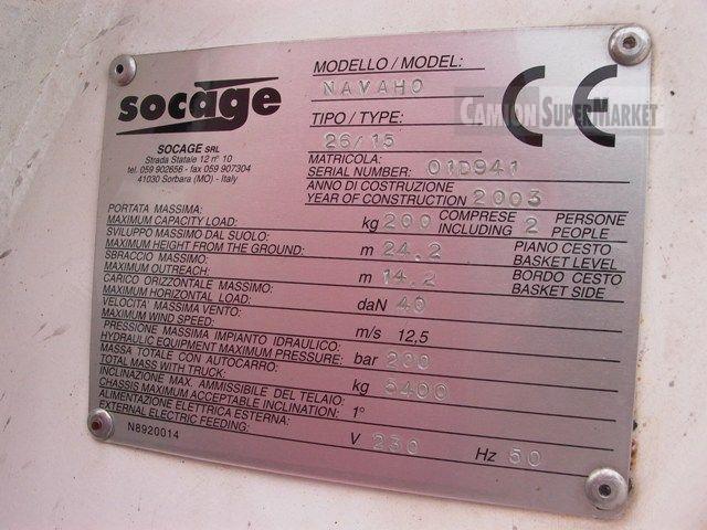 Socage NAVAHO used 2003