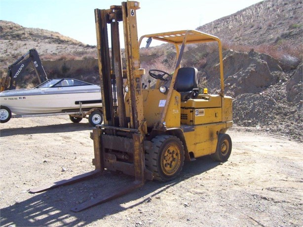 CATERPILLAR V60B Pneumatic Tire Forklifts Auction Results