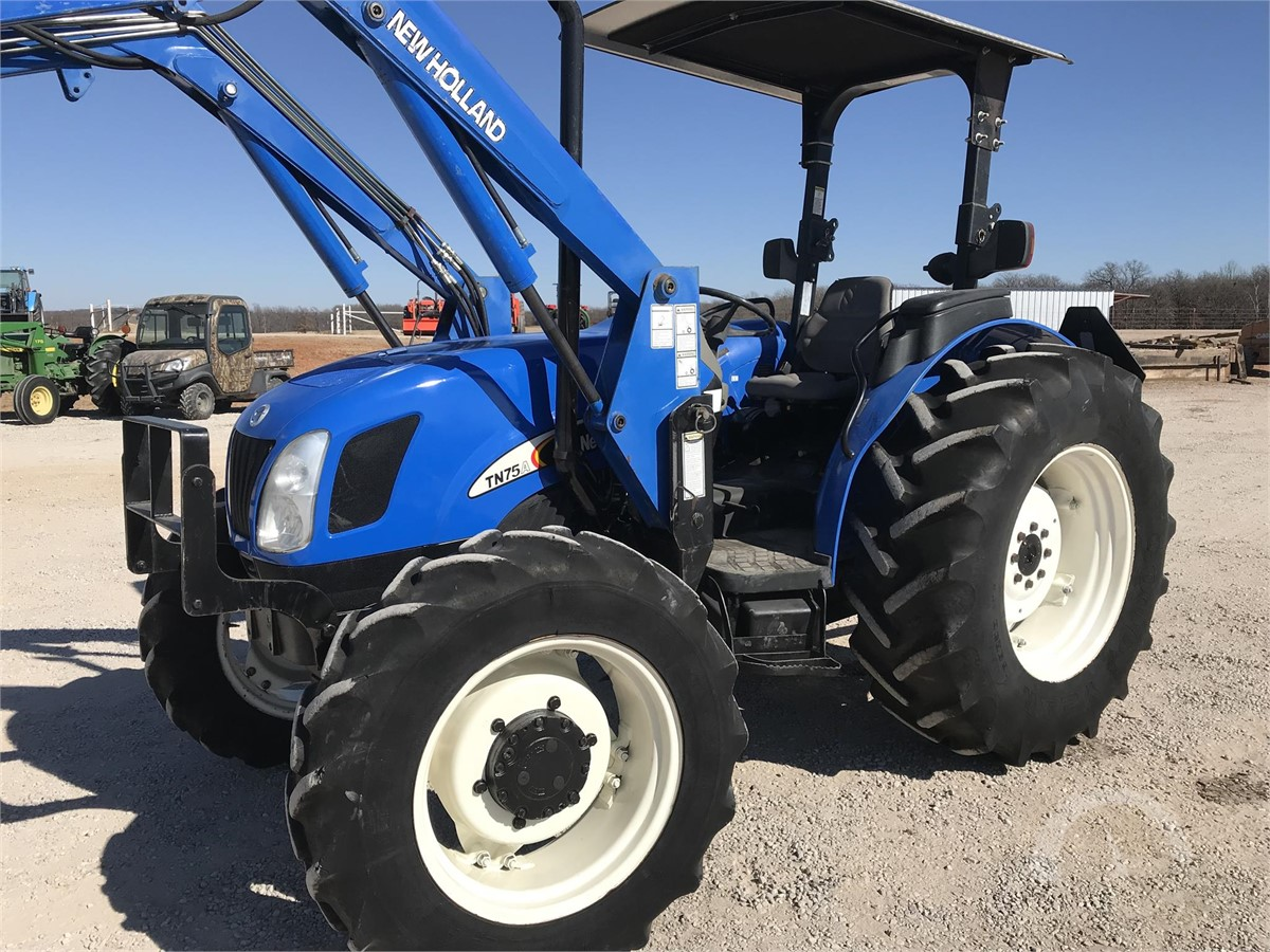 www armitageequipment com | 2007 NEW HOLLAND TN75A Online Auctions