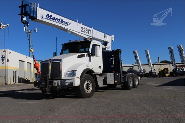 MANITEX 2281T Mounted Boom Truck Cranes For Sale in