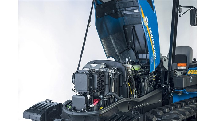 New Holland Rolls Out TK4 Series Crawler Tractors