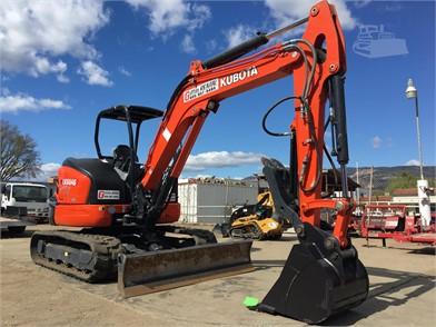 KUBOTA Construction Equipment For Sale In Goleta, California