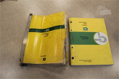John Deere Manuals Auction Results - 95 Listings