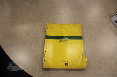 JOHN DEERE 7020 PARTS CATALOG Auction Results - 1 Listings