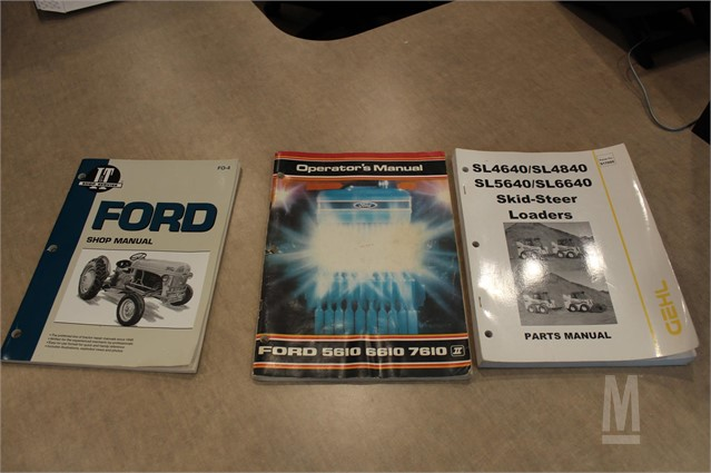 MarketBook co tz | VARIOUS OPERATOR's MANUALS QTY: 3 Online Auction