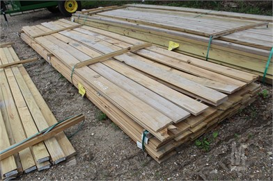 LOT OF (66) 1X6X16 T&G TREATED BOARDS Other Auction Results
