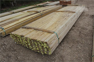 Lot Of (104) 2X4x18 Pressure Treated Boards Other Auction