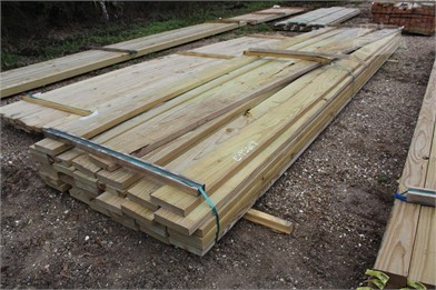 LOT OF (35) 2X8X18 PRESSURE TREATED BOARDS Other Auction