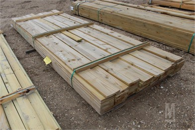 LOT OF (85) 1X6X12 TREATED APP-GRADE BOARDS   Other Auction