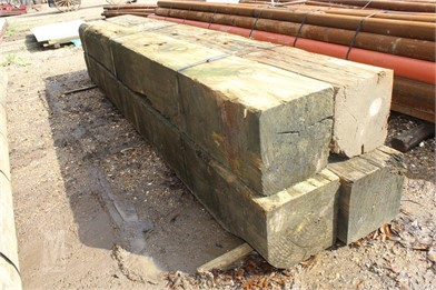 12X12X12 TREATED SQUARE BEAMS Other Auction Results - 1