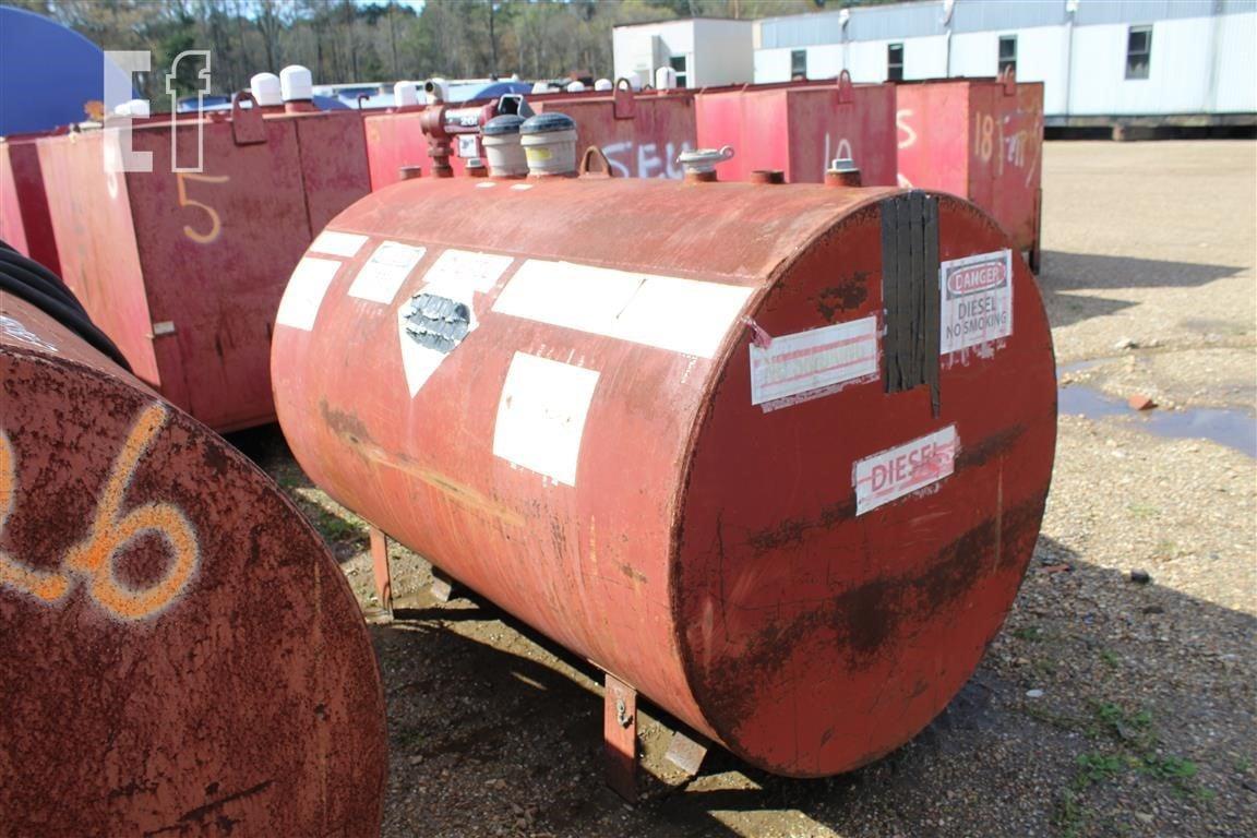 500 Gallon Fuel Tank >> 500 Gallon Diesel Fuel Tank W Pump Skid Mtd