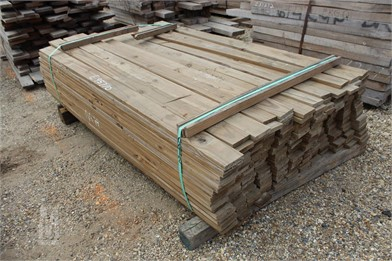 Bundle Of 1X4 Treated Pine Boards Other Auction Results - 1