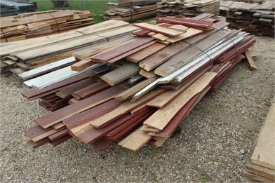 BUNDLE OF MISC PINE BOARDS Other Items Auction Results - 10