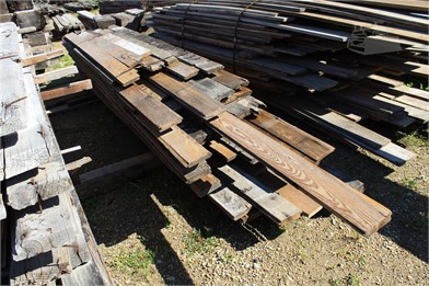 BUNDLE OF 1X6 T&G HEART PINE BOARDS Other Auction Results