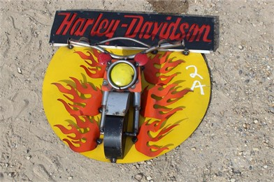 HARLEY DAVIDSON SIGN Other Auction Results - 1 Listings