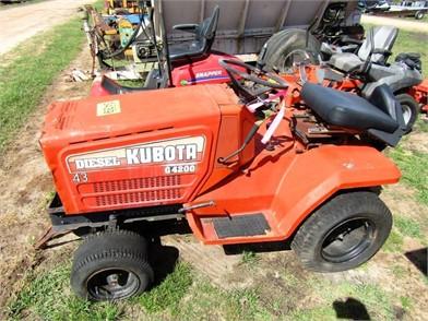 KUBOTA G4200 Auction Results - 7 Listings | MarketBook co tz