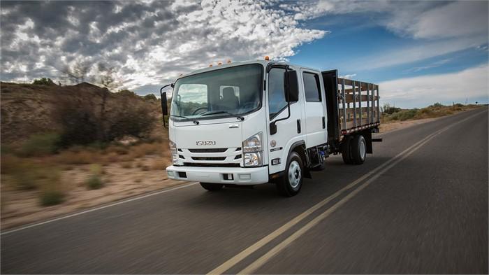 Isuzu Unveils Its 2018 & 2019 Model-Year Low-Cab-Forward