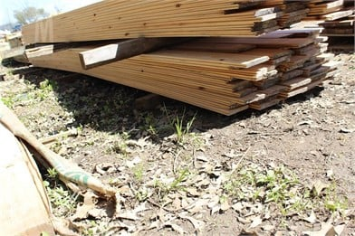 Bundle Of 1X6x16 V-Grove Cypress Boards Other Auction
