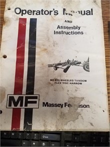 Massey-Ferguson Manuals Auction Results - 4 Listings