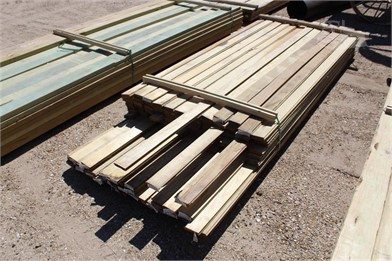 LOT OF (94) 5/4X4X8 & 1X4X10 DECKING BOARDS Other Auction Results