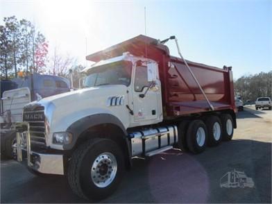 MACK GRANITE GU713 Heavy Duty Trucks Auction Results - 1227