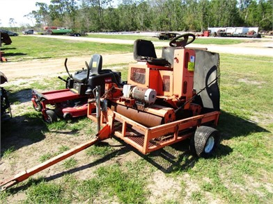 SALSCO RIDE GREENS ROLLER W/CART Other Auction Results - 1 Listings